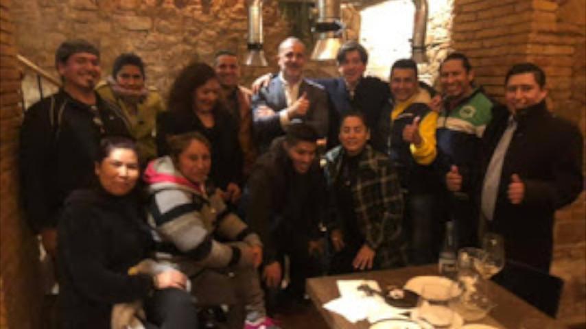El Movimiento Cívico de Espanya i Catalans se reúne con las entidades Hispanas para rubricar un acuerdo de colaboración.