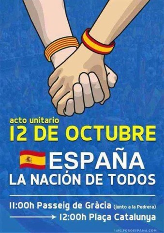 cartel 12 octubre 2014