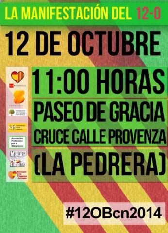12 octubre 2014 horario