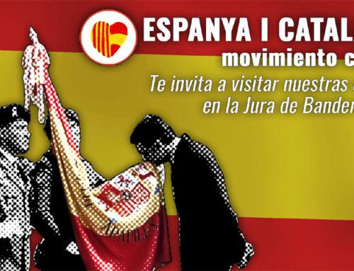 Comunicado: Jura de Bandera Civil en Barcelona