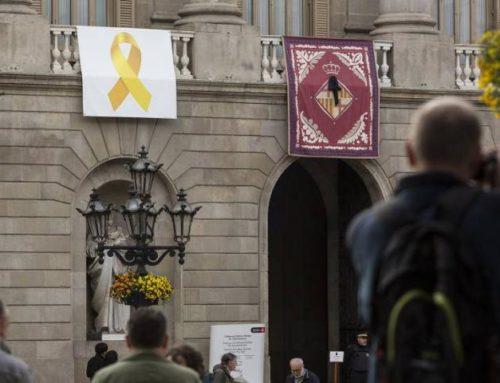 Comunicado: Lazo Amarillo en el Ayuntamiento de Barcelona