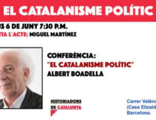 Conferencia de Albert Boadella sobre el «Catalanismo Político»