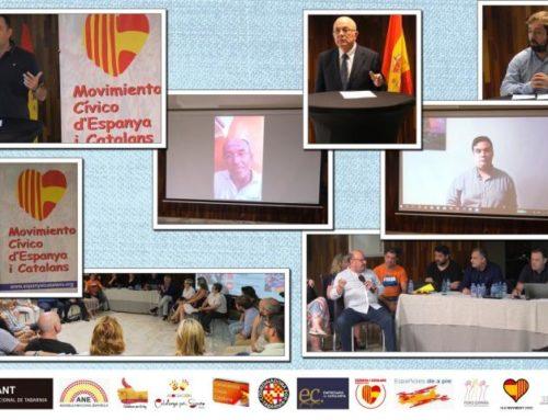 Firma del acuerdo de unidad de acción del asociacionismo constitucionalista en Cataluña