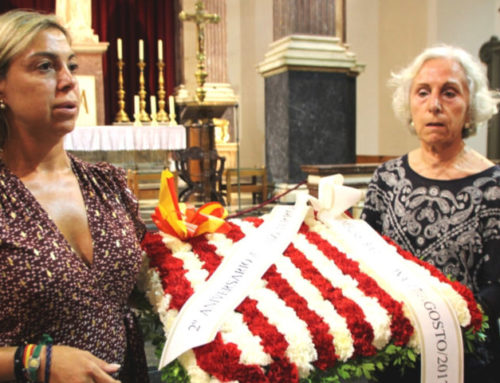 Espanya i Catalans organizando la Misa en honor a las Víctimas del 17A