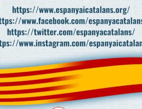 Espanya i Catalans te invita a visitar sus redes sociales