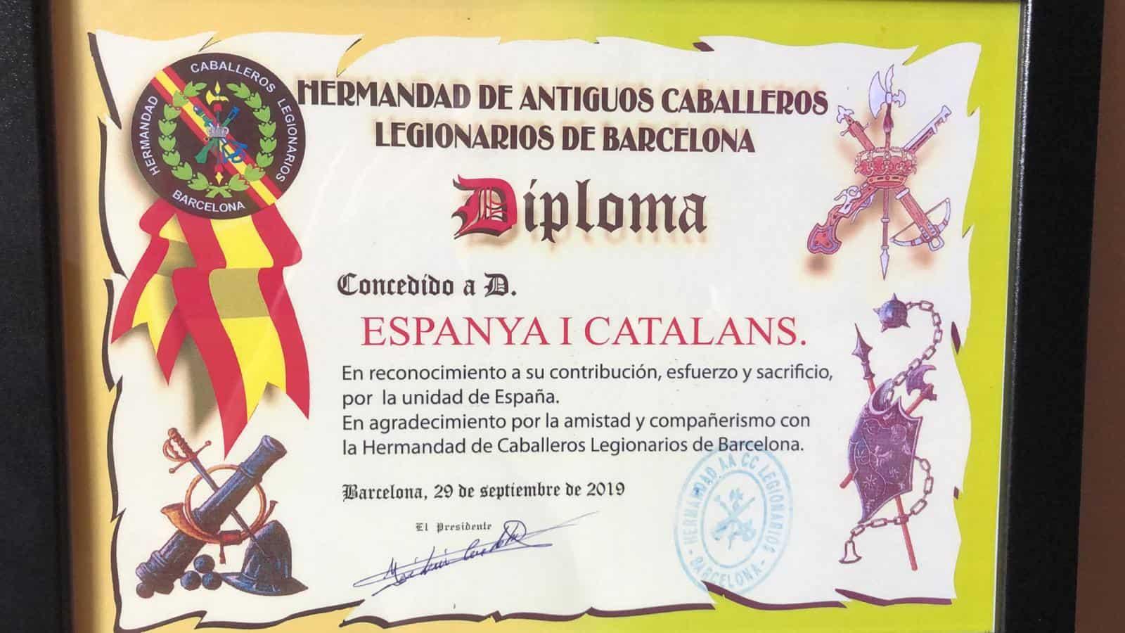 diploma legionarios