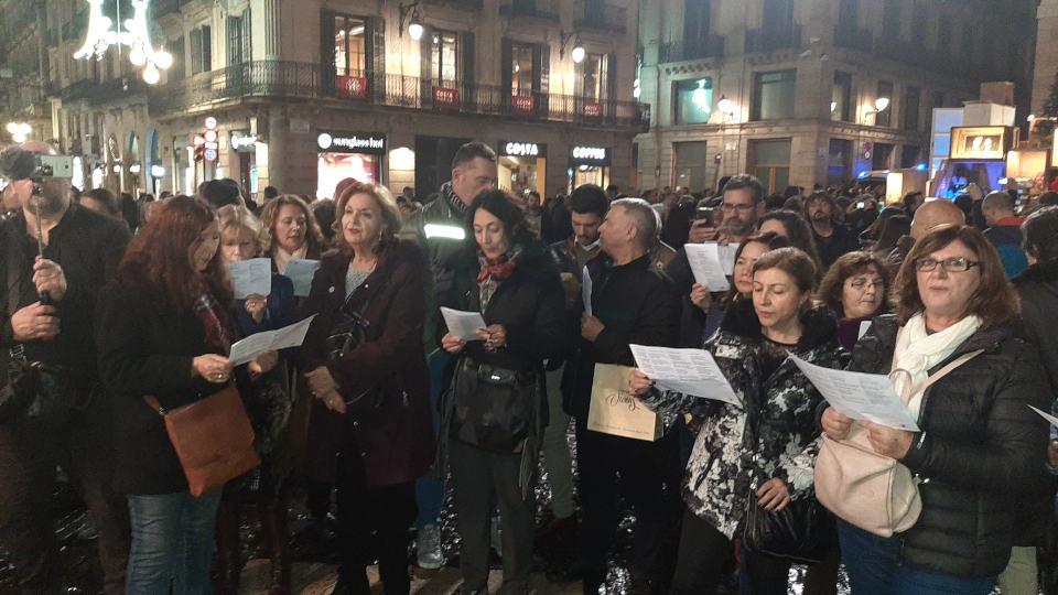 publico cantando