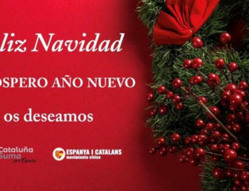 Espanya i Catalans os desea Felices Fiestas