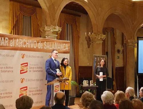 Salvar el Archivo de Salamanca, otorga un premio al Movimiento Cívico Espanya i Catalans