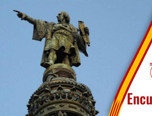 Encuesta 25: ¿Que opinas de la propuesta separatista pidiendo la retirada de la estatua de Colón de Barcelona?