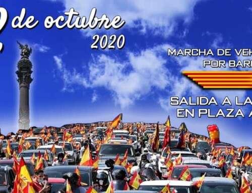 Galería de la Marcha de Vehículos de Barcelona del 12 de Octubre del 2020