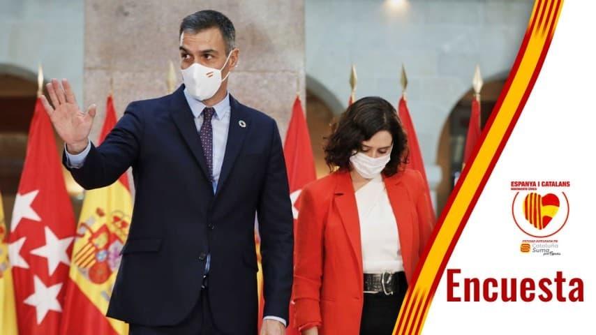 Gobierno Madrid Ayuso España Sánchez