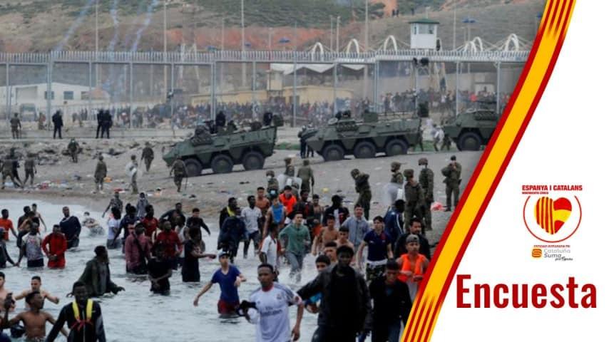 Invasión en Ceuta