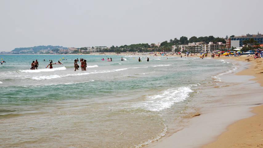 playa comarruga