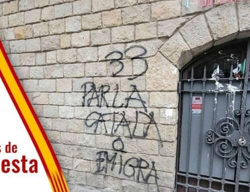 ¿Qué opinas de los acosos separatistas, a comercios por el idioma o a personas por llevar la bandera de España, que suceden últimamente en Cataluña?
