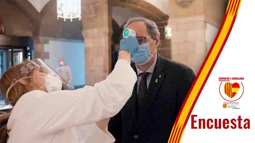 Torra Coronavirus encuesta