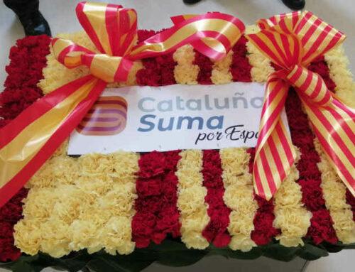 Comunicado de Cataluña Suma Por España sobre la ofrenda floral del 11 de septiembre