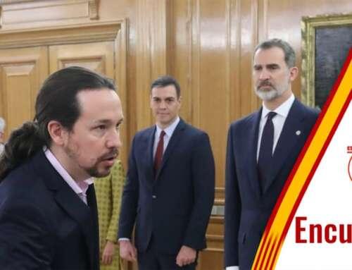¿Crees que Pablo Iglesias ataca al Rey para destruir el Estado de Derecho?