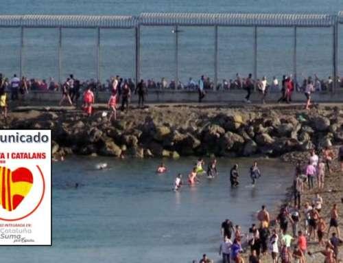 Comunicado tras la oleada migratoria en Ceuta y Melilla