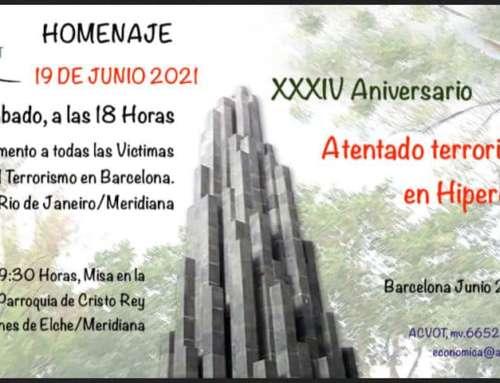 Espanya i Catalans estará presente al homenaje en el Víctimas de Hipercor