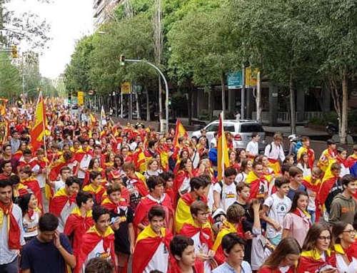 Víctor Milà: Jóvenes patriotas no adoctrinados en Cataluña
