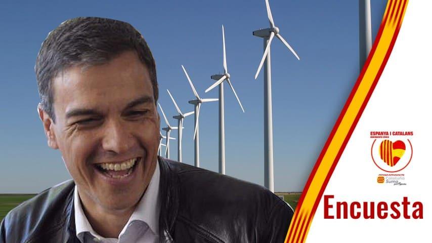 Pedro Sánchez, energía Verde